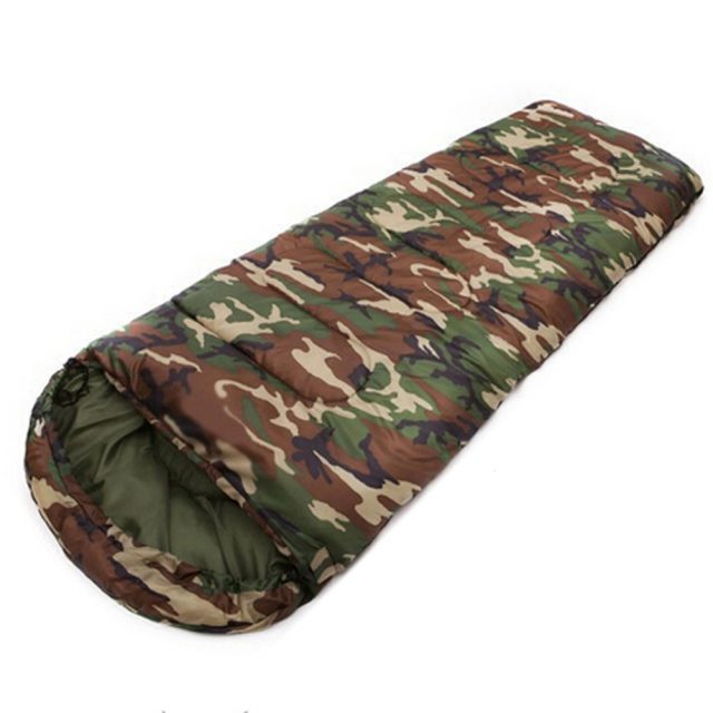 High Quality Outdoor Camouflage Cotton Sleeping Bag
